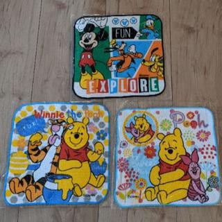 ディズニー(Disney)の☆新品☆ ディズニー ミニタオル 3枚セット(その他)