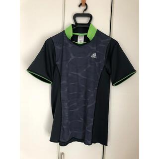 アディダス(adidas)のアディダス!スポーツTシャツ!ネイビー!迷彩(ウェア)