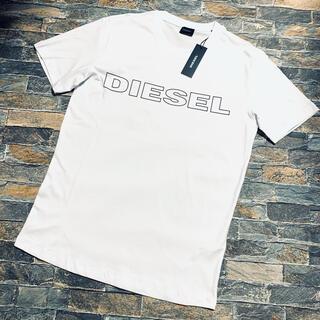DIESEL - 【新品未使用】DIESEL ディーゼル/ブランドロゴ Tシャツ カットソー S