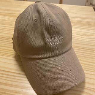 ALEXIA STAM - アリシアスタン キャップ 帽子