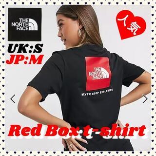 THE NORTH FACE - ザ・ノースフェイス レッドボックス 半袖 Tシャツ ブラック 海外正規