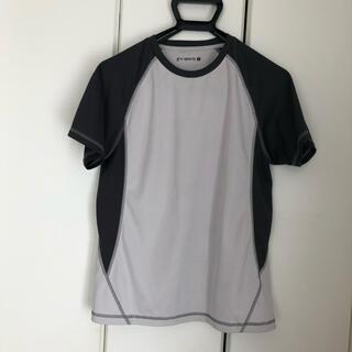 ジーユー(GU)のGUスポーツ!Tシャツ!グレー(ウェア)