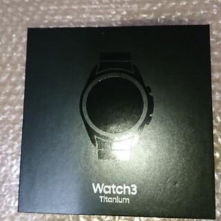 Galaxy Watch3 Titanium SM-R840NTKAXJP