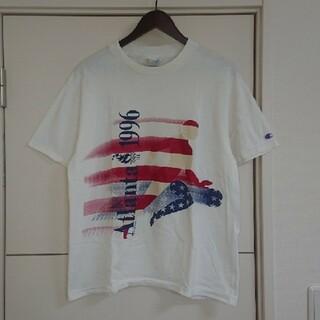 Champion - Champion チャンピオン Tシャツ 90s古着 USA製 オリンピック