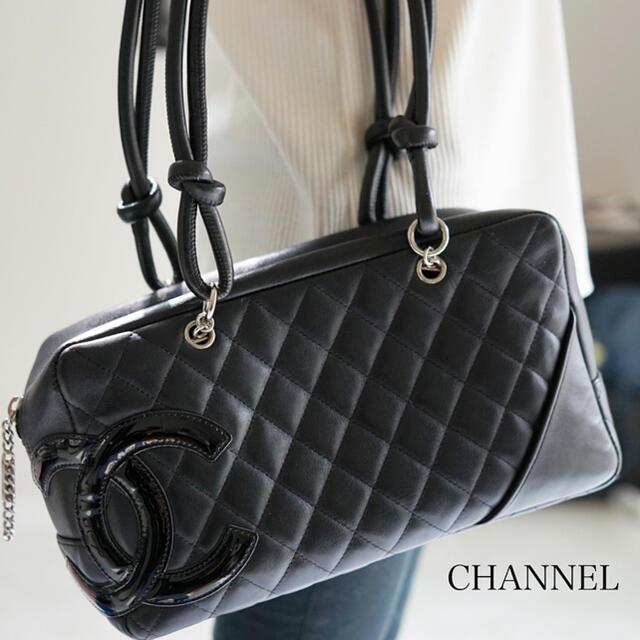 CHANEL(シャネル)の専用画面【CHANEL】シャネルカンボンラインハンドバッグ レディースのバッグ(ハンドバッグ)の商品写真