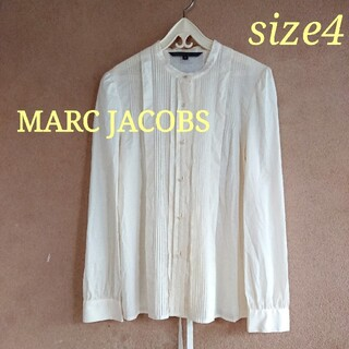 MARC BY MARC JACOBS - MARC BY MARC JACOBS  ピンタックブラウス サイズ4
