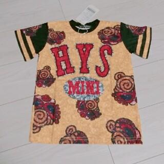 ヒステリックミニ(HYSTERIC MINI)の新品 ヒスミニ スパンコール Tシャツ 02(Tシャツ/カットソー)