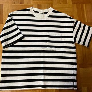 GU - Tシャツ ボーダー