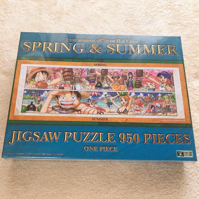 ONE PIECE ワンピース展 パズル 950 SPRING & SUMMER エンタメ/ホビーのアニメグッズ(その他)の商品写真