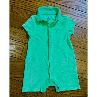 ベビーギャップ(babyGAP)のbabyGAP  ベビーギャップ 半袖ロンパース 襟付き 80サイズ(ロンパース)