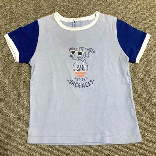 プチバトー(PETIT BATEAU)のプチバトー PETIT BATEAU 半袖 Tシャツ 18m/81cm(Tシャツ)