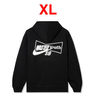 NIKE - 【XL】 WASTED YOUTH x Nike SB HOODY BLACK