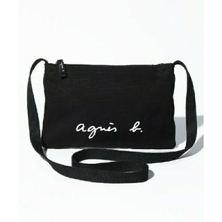 agnes b. - 新品★アニエスベーサコッシュショルダーバッグ ブラック