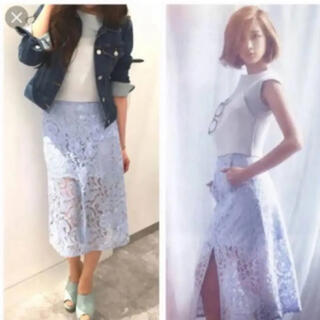 REDYAZEL - 【新品未使用】値下げ REDYAZEL 紗栄子さん着用 レーススリットスカート