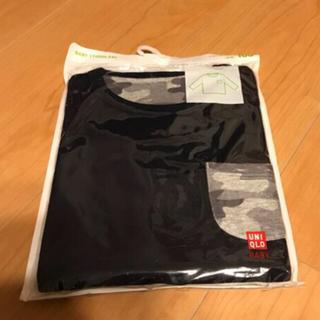 ユニクロ(UNIQLO)の新品・未開封 UNIQLO 長袖 100センチ(Tシャツ/カットソー)
