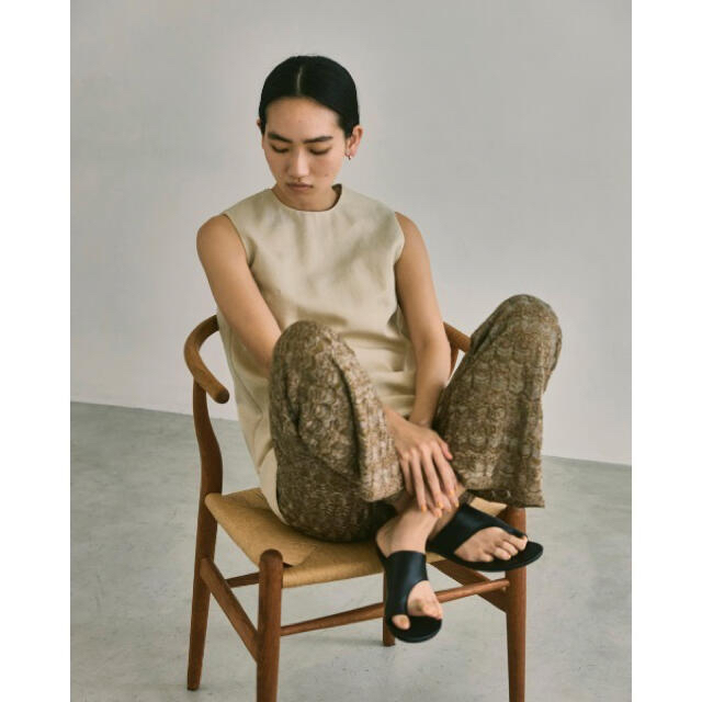 TODAYFUL(トゥデイフル)のTODAYFUL トングレザーサンダル 38 レディースの靴/シューズ(サンダル)の商品写真