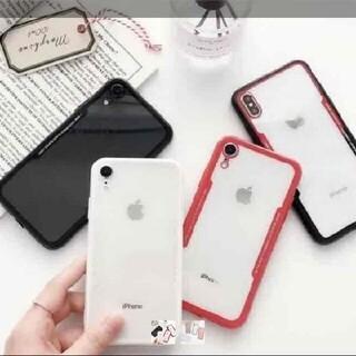 即日発送⭐︎最新型⭐︎iPhone XRケース ホワイト インスタ映え(iPhoneケース)