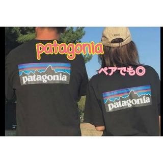 patagonia - ペアコーデに!!patagonia Tシャツ ブラック Sサイズ