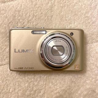 パナソニック(Panasonic)のLUMIX  DMC-FX77   ゴールド(コンパクトデジタルカメラ)