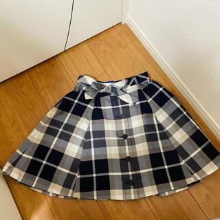 ブラックレーベルクレストブリッジ(BLACK LABEL CRESTBRIDGE)のブルーレーベル  クレストブリッジ  スカート(ミニスカート)