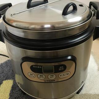 タイガー(TIGER)の業務用スープジャー マイコンジャー 8L 値下げ(鍋/フライパン)