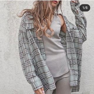 ANAP - ゆっぴ様専用です!  オーバーサイズチェックシャツ