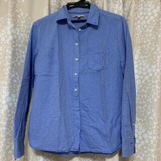 ギャップ(GAP)のブルー シャツ GAP 長袖(シャツ/ブラウス(長袖/七分))
