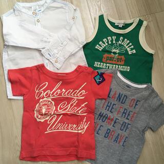エフオーキッズ(F.O.KIDS)の夏物4点セット(Tシャツ)