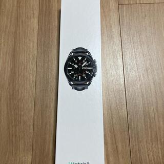 SAMSUNG - 【未開封・未使用】Samsung Galaxy Watch3 45mm