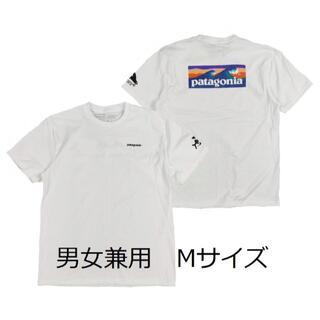 patagonia - パタゴニアTシャツ M デイリーグラフィック  白 マリン フィッシュ サーフ