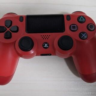 プレイステーション4(PlayStation4)のPS4コントローラー レッド(その他)