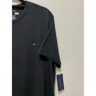 TOMMY HILFIGER - 【新品】Tommy トミーフィルフィガー M 黒 半袖 tシャツ ブランド 人気
