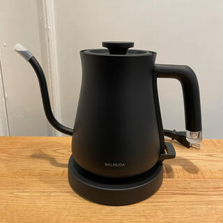 バルミューダ(BALMUDA)のBALMUDA The Pot バルミューダ ケトル 黒 ポット(電気ポット)