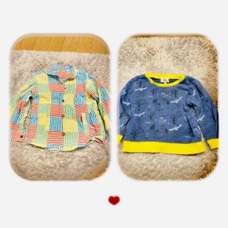 ムージョンジョン(mou jon jon)の95cmムージョンジョン&グリーンレーベル✴︎2枚セット900(Tシャツ/カットソー)