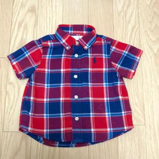 ラルフローレン(Ralph Lauren)のラルフローレン 半袖シャツ 6M 70cm(シャツ/カットソー)