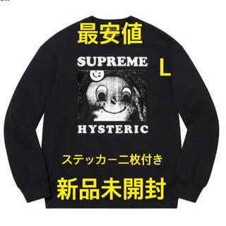 Supreme - Supreme / HYSTERIC GLAMOUR スウェット L