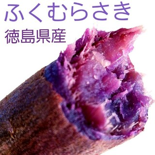 U-1 徳島県産 希少紫芋 ふくむらさき(野菜)