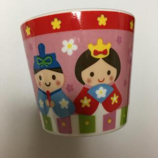ひな祭り柄のミニカップ(グラス/カップ)