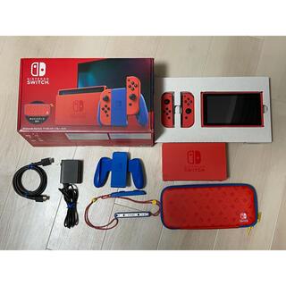Nintendo Switch - 中古Nintendo Switch マリオ レッド×ブルー セット