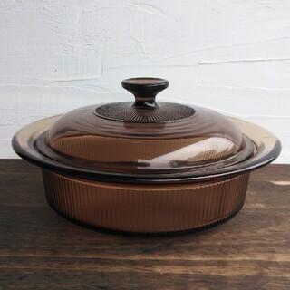パイレックス(Pyrex)の岩城硝子 超耐熱パイロセラム キャセロール / 鍋 ビジョン コーニング(鍋/フライパン)