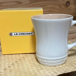ルクルーゼ(LE CREUSET)のルクルーゼ マグカップS  ホワイト(グラス/カップ)