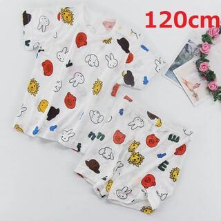 ライオンミッフィーパジャマ ルームウェア  半袖 半ズボン 上下セット120cm(パジャマ)
