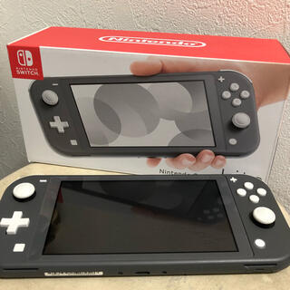 Nintendo Switch - Nintendo Switch lite スイッチライト グレー