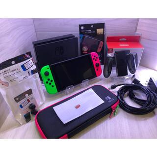 Nintendo Switch - すぐに遊べる!Nintendo Switch 本体一式と装備たくさんセット