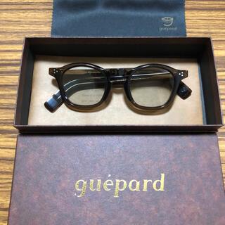 アヤメ(Ayame)の新品 guepard  ギュパール gp-05w(ウィスキー)(サングラス/メガネ)