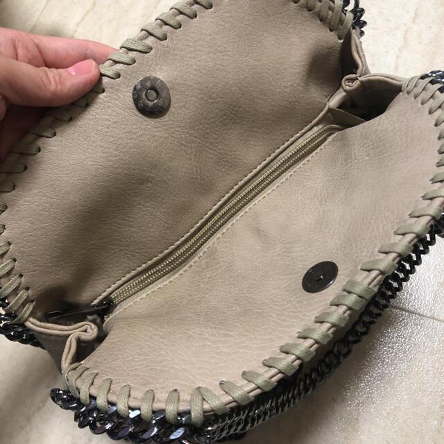 GRL(グレイル)のGRL購入♡チェーンショルダーバッグ♡グレージュ レディースのバッグ(ショルダーバッグ)の商品写真