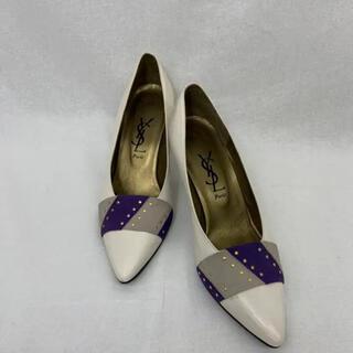 Saint Laurent - SH06 used ysl レトロ スタッズ パンプス 靴