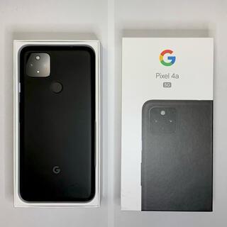 Google Pixel - Google Pixel 4a(5G)  JustBlack 128 GB