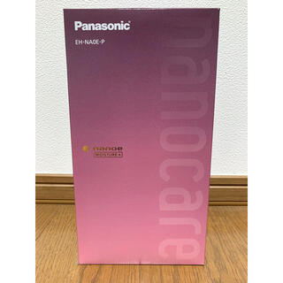 Panasonic - Panasonic ヘアドライヤー ナノケア コーラルピンク 【新品未開封】