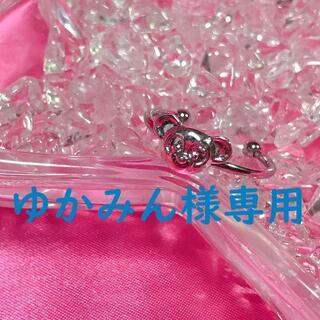 ディズニー(Disney)のゆかみん様専用☆ダッフィーシェリーメイプチリング☆ステンレス(リング(指輪))